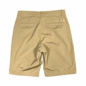 Under Armour Flat Front Loose Fit Bermuda Shorts